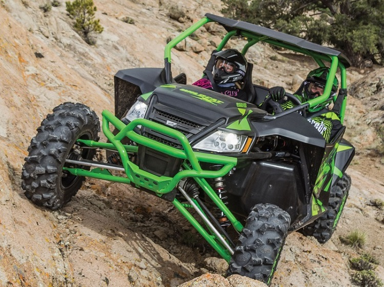 2016 Arctic Cat Wildcat X front view