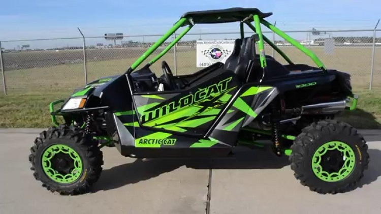 2016 Arctic Cat Wildcat X side view