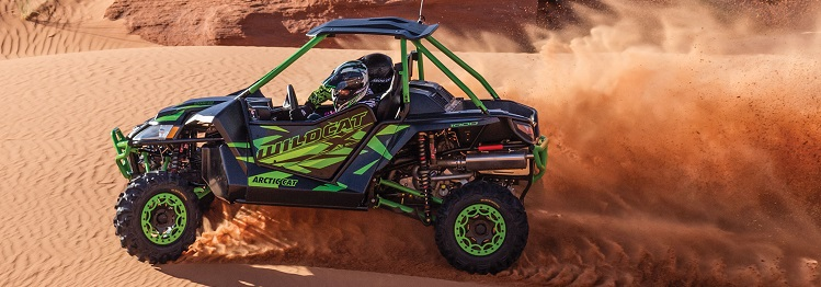 2016 Arctic Cat Wildcat X side