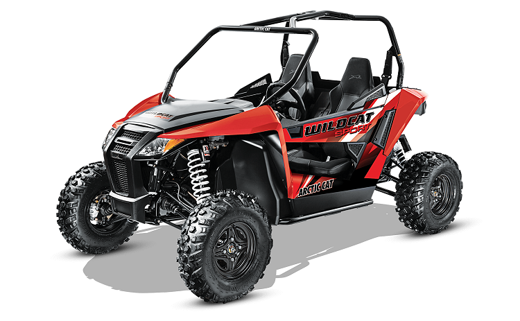2016 Arctic Cat Wildcat Sport front view