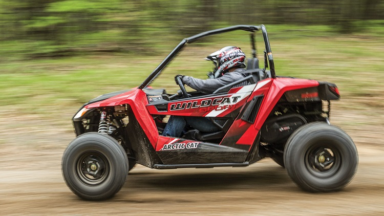 2016 Arctic Cat Wildcat Sport side view