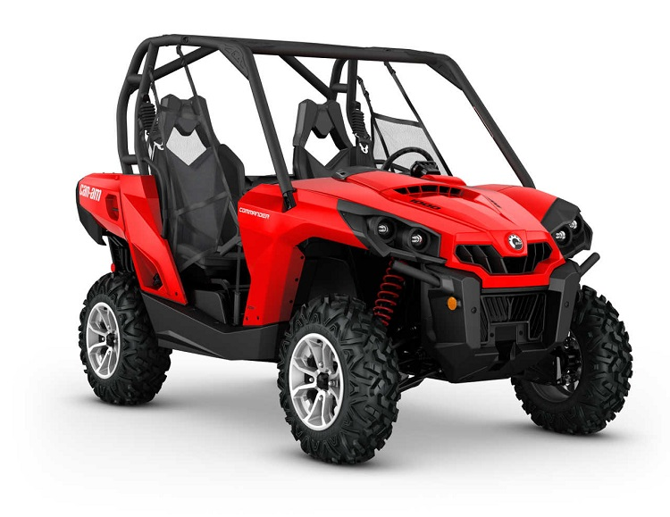 2016 Can Am Commander front view