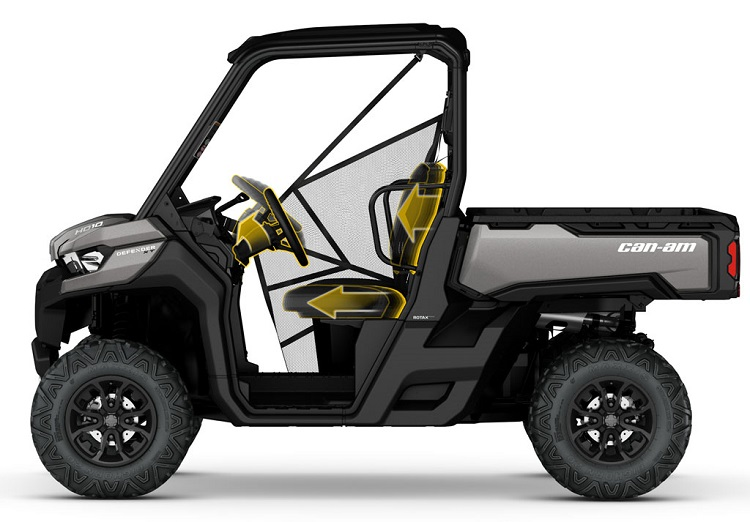2016 Can Am Defender DPS side view