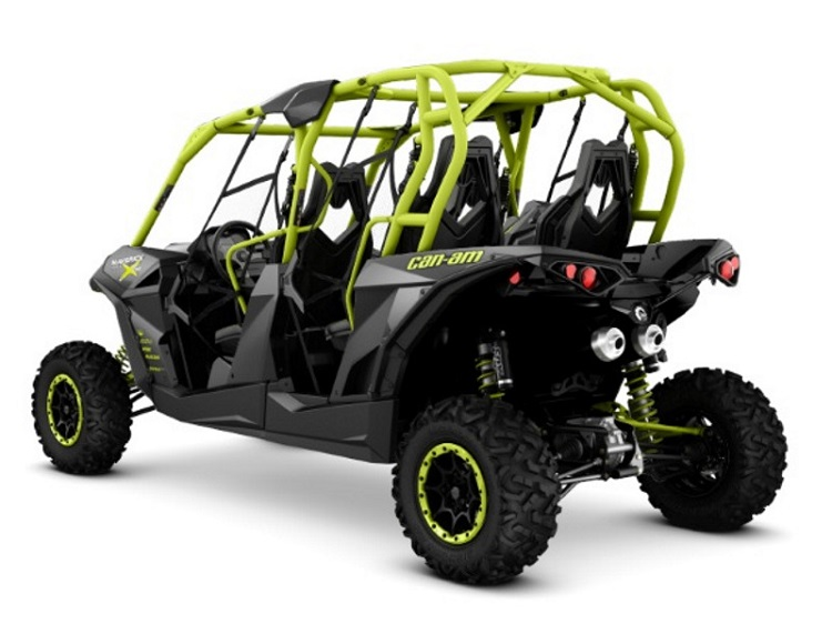 2016 Can Am Maverick Max Turbo rear view