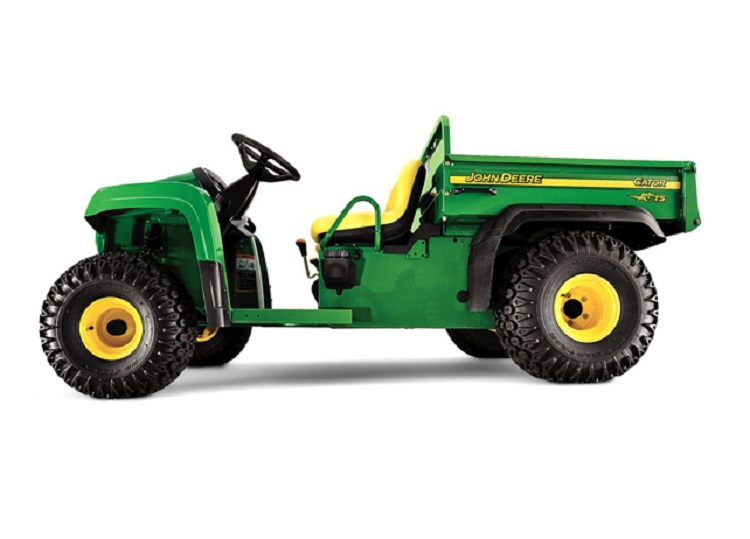 2016 John Deere Gator TS side view