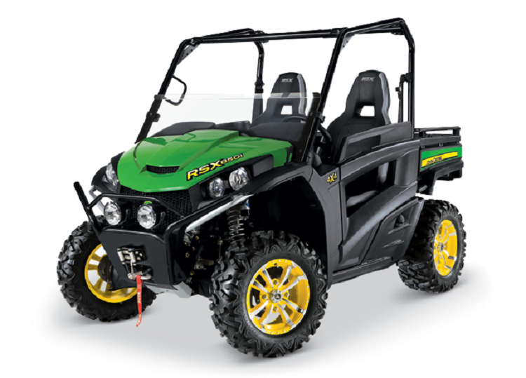 2016 John Deere RSX850i front view
