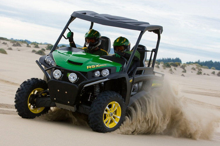 2016 John Deere RSX850i off-road