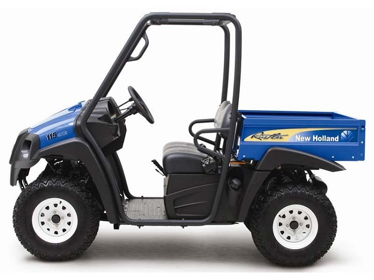2016 New Holland Rustler 115 side view