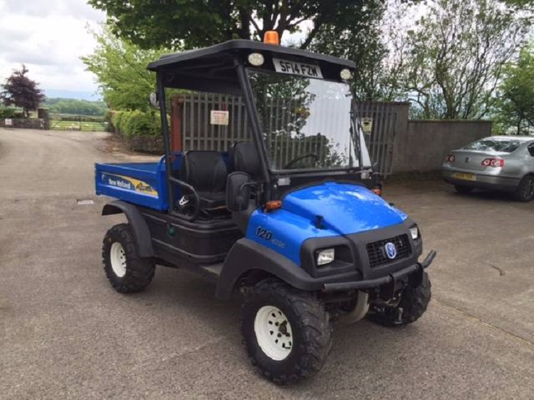 2016 New Holland Rustler 120 front view