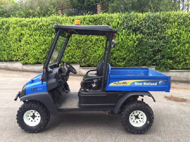 2016 New Holland Rustler 120 side view
