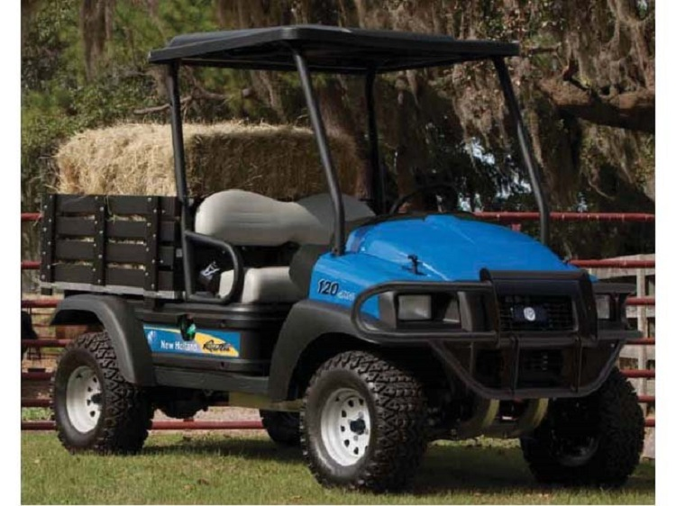 2016 New Holland Rustler 120