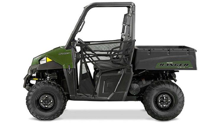 2016 Polaris Ranger 570 side view