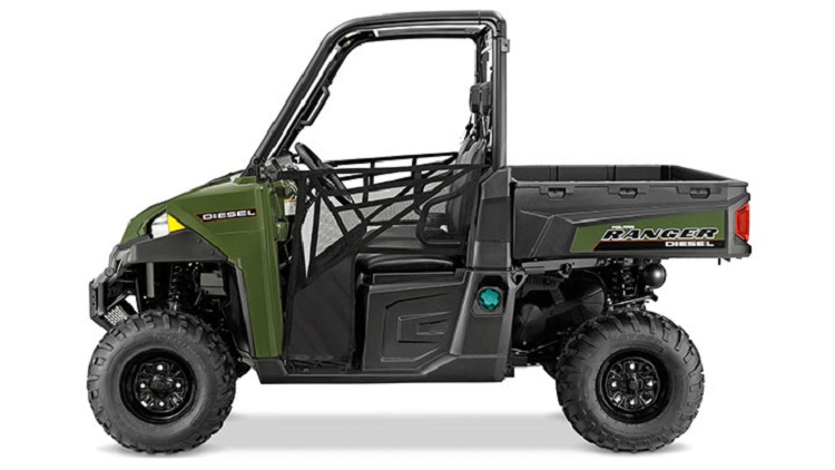 2016 Polaris Ranger Diesel side view