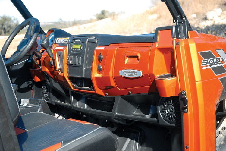 2016 Polaris Ranger XP 900 interior