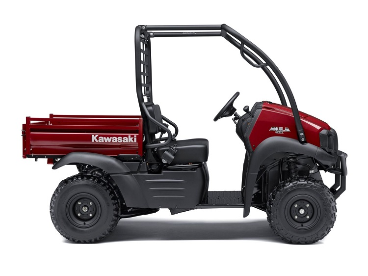 2017 Kawasaki Mule 4000 side view