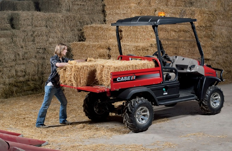 Case IH Scout XL rear vies