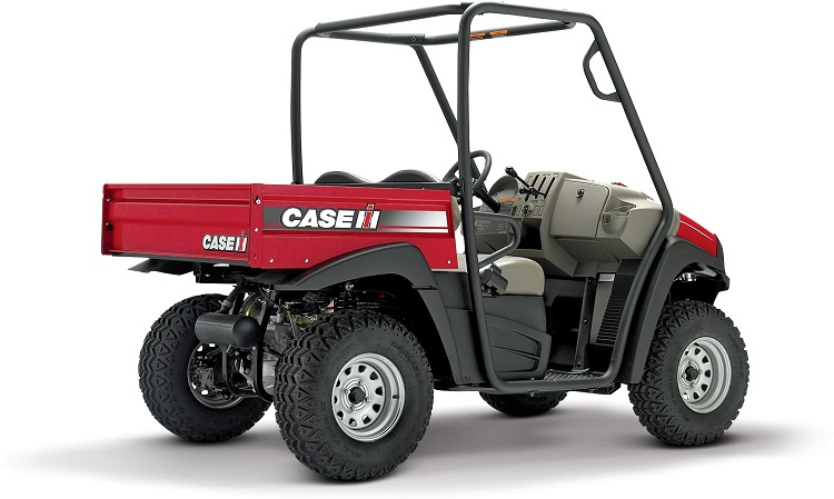 Case IH Scout rear view
