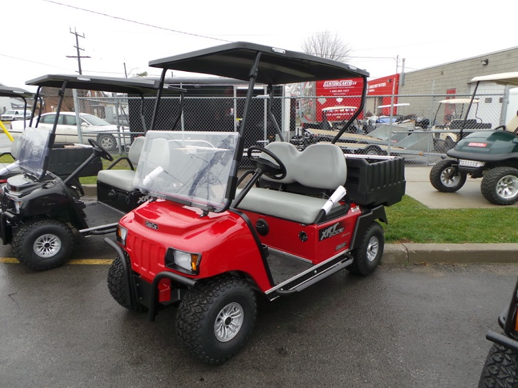 Club car XRT800 front view