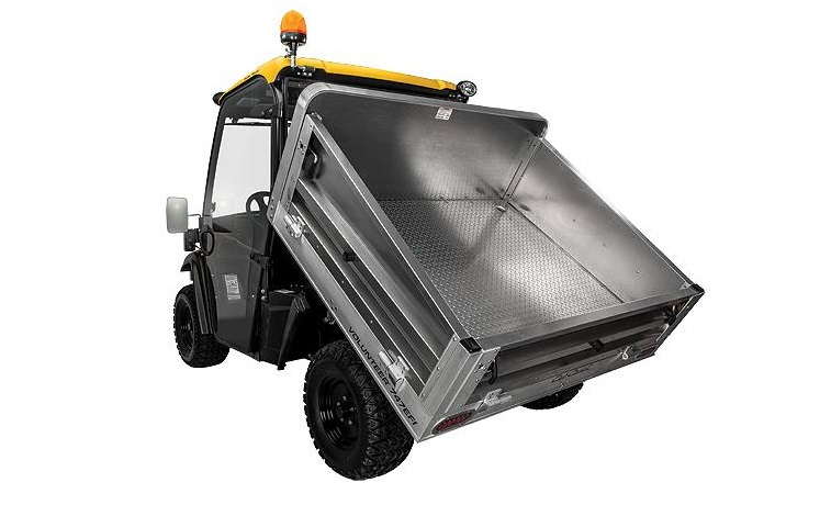 2016 CubCadet Volunteer WT cab rear view