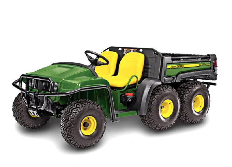 2016 John Deere Gator TH front view