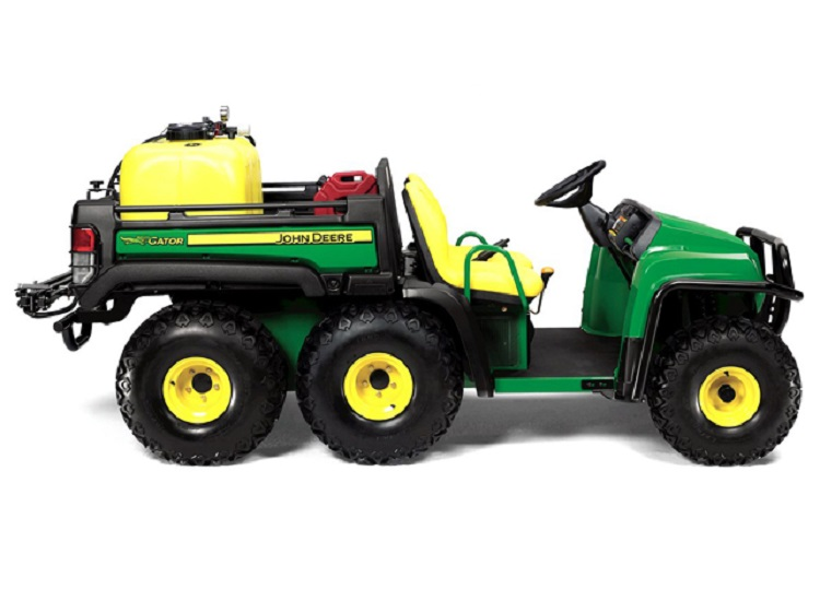 2016 John Deere Gator TH rear view