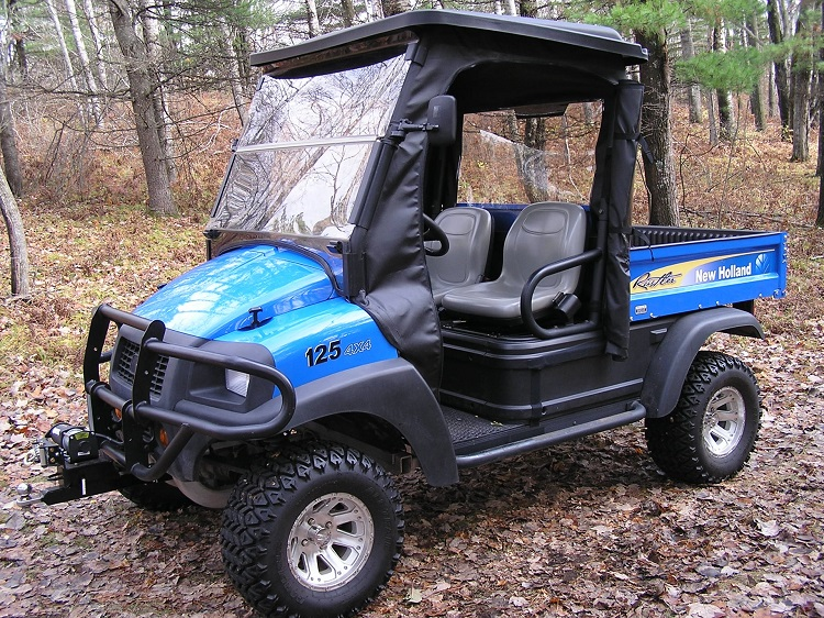2016 New Holland Rustler 125 front view