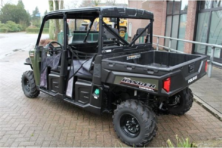 2016 Polaris Ranger Crew Diesel rear view