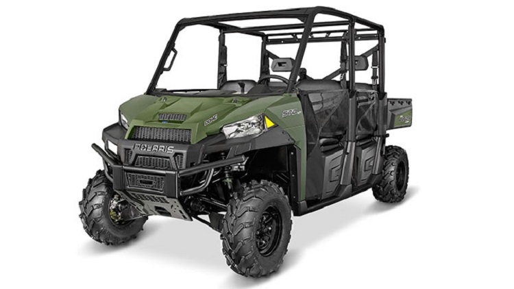 2016 Polaris Ranger Crew XP 570-6 front view