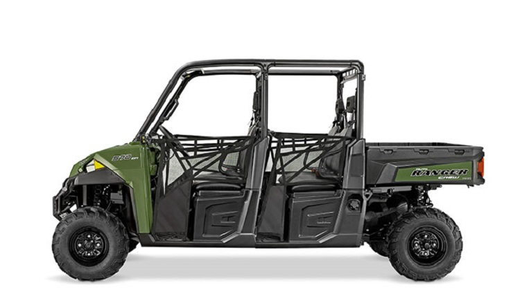 2016 Polaris Ranger Crew XP 570-6 side view