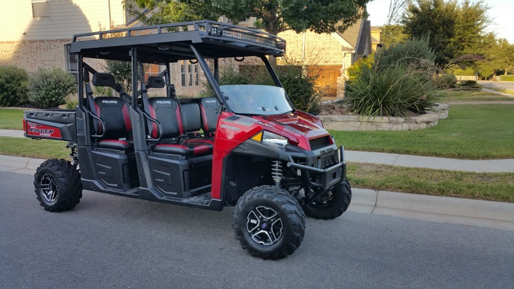 2016 Polaris Ranger Crew XP 900-6 front view