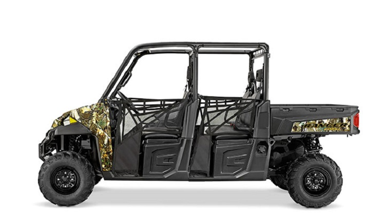 2016 Polaris Ranger Crew XP 900-6 side view