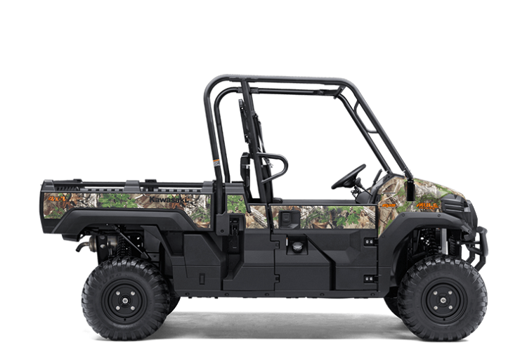 2017 Mule PRO-FX EPS Camo side view