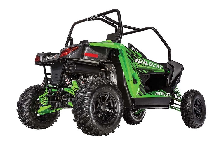 2016 Arctic Cat Wildcat Sport XT rear view
