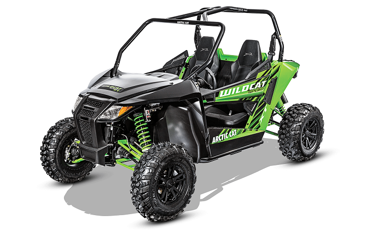 2016 Arctic Cat Wildcat Sport XT front view