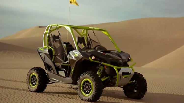 2016 Can Am Maverick X DS front