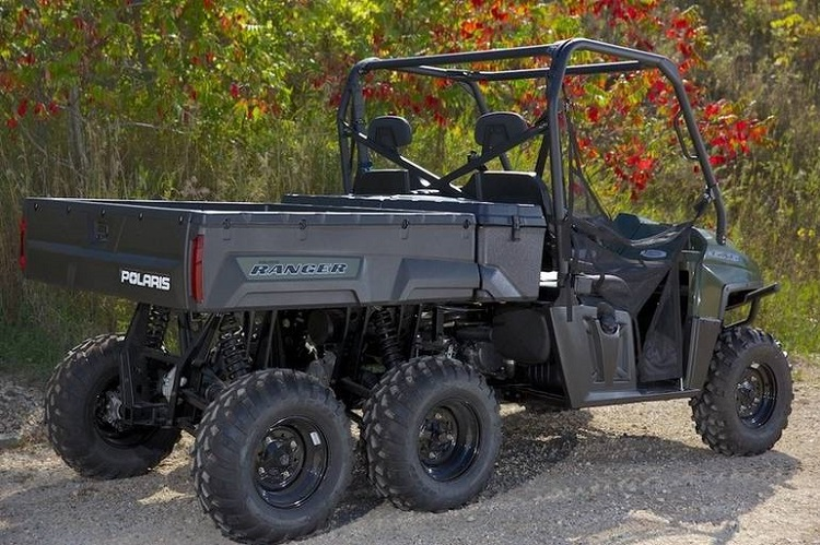2016 Polaris Ranger 6x6 rear view