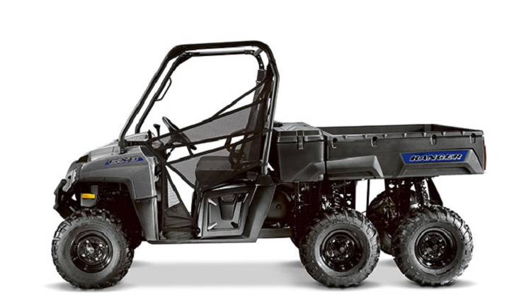 2016 Polaris Ranger 6x6 side view