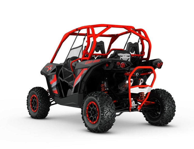 2016 Can Am Maverick rear view
