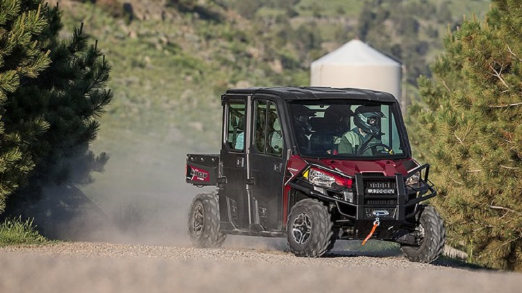 2016 polaris ranger crew xp 900-5 front view